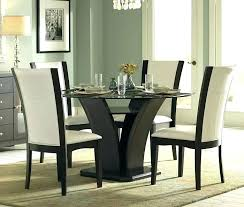amazing black round dining table and chairs daisy espresso gl round espresso dining room chairs plan