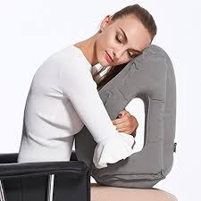 Office nap pillow Sensory Deprivation Mulgore Airplane Pillow Travel Pillow Inflatable Travel Pillow For Airplanes Cars Buses Trains Office Napping Camping Shenzhen Byriver Company Limited Global Sources Mulgore Airplane Pillow Travel Pillow Inflatable Travel Pillow For