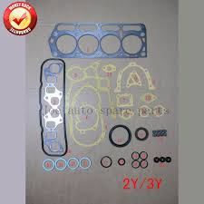 2Y 3Y Engine Full gasket set kit for Daihatsu Fourtrak/Delta Toyota ...