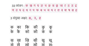 Thorough Barakhadi Hindi Chart Hindi Barakhadi Chart Free