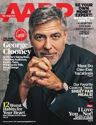 AARP finally gets George Clooney ...