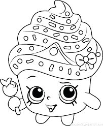 Shopkins Coloring Pages Free To Print Free Printable Shopkins