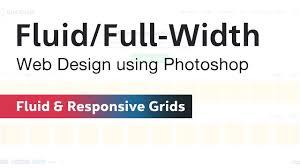 Responsive Web Design Grid Photoshop Fluid Design Grid In Photoshop For Web Design Todays