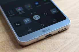 lg g6. has lg\u0027s trademark fingerprint sensor which doubles as a power button below the dual-lens camera and flash unit. apart from subtle g6 logo, that\u0027s it. lg