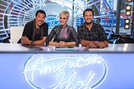abc s american idol judges lionel richie katy perry and luke bryan abc eric liebowitz