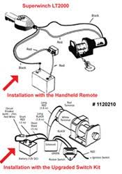superwinch lt wiring instructions superwinch installation of the remote for the superwinch lt2000 etrailer com on superwinch lt2000 wiring instructions