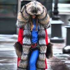 Autumn And <b>Winter High Imitation</b> Mane Luxury Cotton <b>Jacket</b> ...