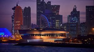 Dubai Lights Doha Qatar Worlds Largest Nobu Debuts At Four Seasons Hotel Doha Day