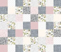 Floral Nursery Quilt Fabric by the Yard Cotton Cheater Quilt & Like this item? Adamdwight.com