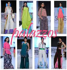 Pakistani Designer Palazzo Pants Latest Long Shirts With Palazzo Pants 2014 15 For Girls