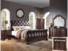 Sheffield Bedroom Furniture Crown Mark Bedroom Sheffield Sleigh Bed Four States Furniture