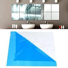 decorative mirror tiles new cute wall sticker self adhesive decorative mirrors tiles mirror wall stickers mirror