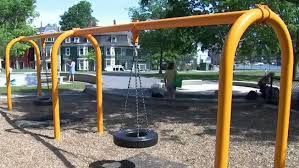 Police Man Grabs Lifts Child By The Neck On Brookline Playground