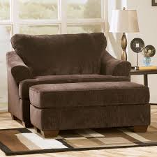 oversized reading chair in dark brown fabric with rectangle ottoman for home furniture idea comfy armchair recliners giant recliner rocker swivel chai