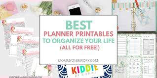 Best Free Budget Best Free Planner Printables To Organize Your Entire Life 2019