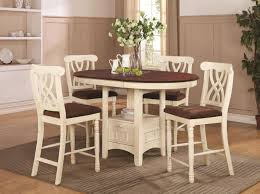 White Wood Kitchen Table Sets Coaster Addison 102238 102239 White Wood Pub Table Set In Los