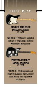 pressreader guitarist 2016 09 16 fender the edge stratocaster the modern fender two post vibrato creates a very in tune and stable vibrato system along those tuners 2 the big 70s style head hints at the