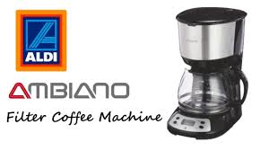 A great way to create barista style coffee at home, this brilliant gadget is perfect for coffee lovers. Aldi Product Test Review Ambiano Filter Coffee Machine Youtube