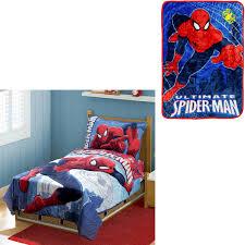 bonus blanket with marvel spiderman 4pc toddler bedding set com