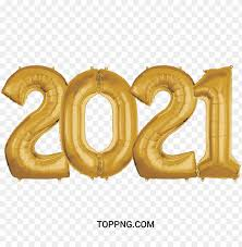 Wishes, images, greetings, messages, quotes, status, wallpaper, sms, photos and pics. 2021 Balloon Gold Color Png Image With Transparent Background Toppng