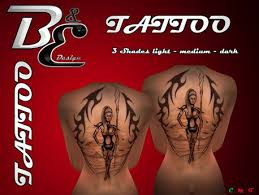 Second Life Marketplace Be Design Tattoo Gladiator 03