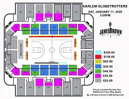 James Brown Seating Chart Augusta Entertainment Complex James Brown Arena Bell