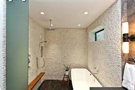 freestanding tub in small bathroom shower bench ideas bathroom contemporary with freestanding tub frosted glass image