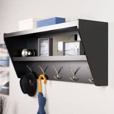 Black Wall Coat Rack Shelf 10000b10000e10000e10000c100004 100 Wall Coat Rack Withelf And Mirror 91