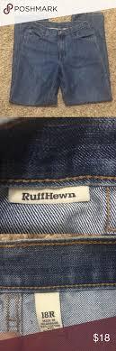 Ruff Hewn Jeans Size 18r 10 Euc Straight Leg Jeans Size Tag