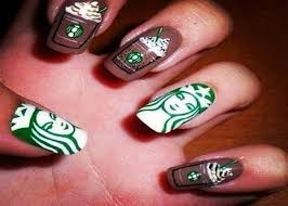 Simple Nail Design Ideas Prev Next Cool Nail Design Ideas Starbucks Art Designs