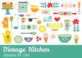 vintage cooking utensils clipart. Vintage Kitchen Utensils Clipart With Cooking
