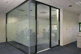 office glass door. Glass Office Divider Door D