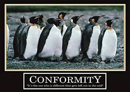 motivational posters office. Poster Conformity -ORIGINAL- Barney Stinson How 3 / 13?I Met Your Motivational Posters Office