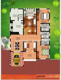 pleasant idea kerala modern floor plans 12 contemporary house plan