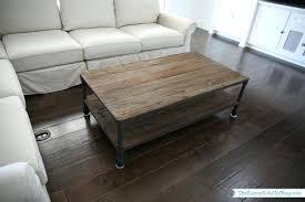 diy restoration hardware coffee table restoration hardware style coffee table