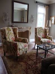 quatrine custom furniture. Quatrine Custom Furniture - Client Home 21 Really Love The Print Wing Chair Quatrine Custom Furniture A