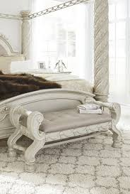Cassimore   Pearl Silver   Large UPH Bedroom Bench