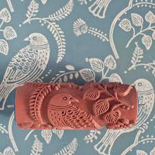 Pattern Paint Roller Adorable This Embossed Roller Paints A Repeat Pattern In One Smooth Motion