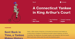 a connecticut yankee in king arthur s court chapters 9 10 summary course hero