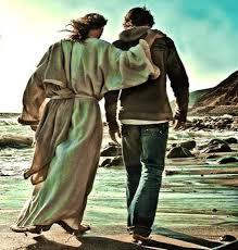 Resultado de imagem para jesus anda conosco