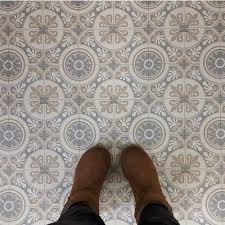 Patterned Linoleum Flooring