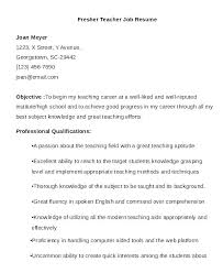Good Resume Samples For Freshers Resume For Teaching Job This Is