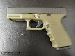 round 9mm luger od green frame