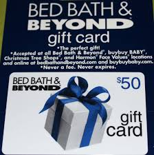 50 bed bath and beyond flash giveaway