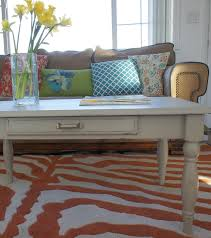 painted coffee table ideasRound Painted Coffee Table Ideas
