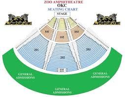 Okc Zoo Amp Seating Chart Okc Zoo Amphitheater
