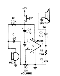 microphone circuit diagram the wiring diagram electronic circuit diagrams projects vidim wiring diagram circuit diagram · simple microphone