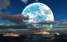 beautiful moonlight wallpaper