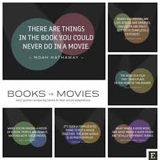 Good Movie Quotes Impressive 48 Best Quotes Comparing Books And Movies