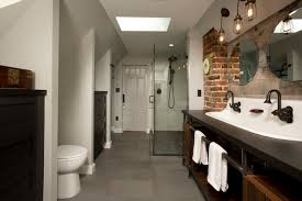 industrial bath lighting. vintage industrial bathroom lighting bath